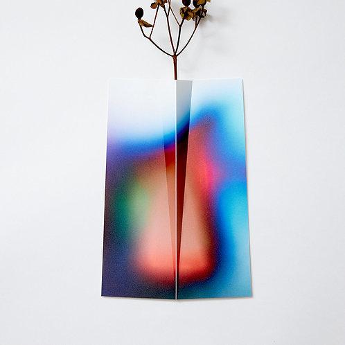 """Flower Vase """" ONE """" 043"""