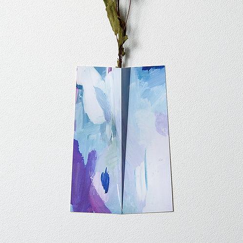 """Flower Vase """" ONE """" 004"""