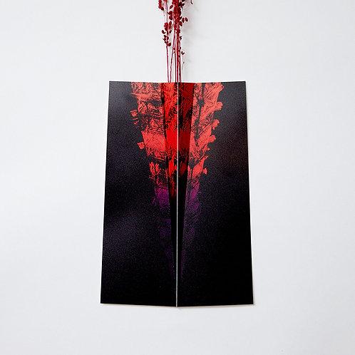 """Flower Vase """" ONE """" 092"""