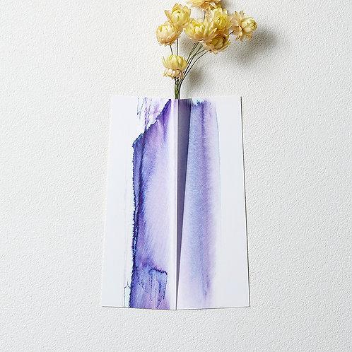 """Flower Vase """" ONE """" 006"""