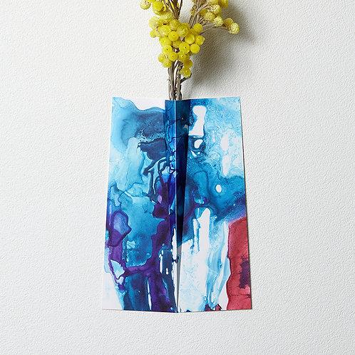 """Flower Vase """" ONE """" 012"""