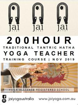 Jai Yoga YTT Poster
