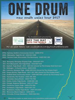 One Drum Screening Feb 2017