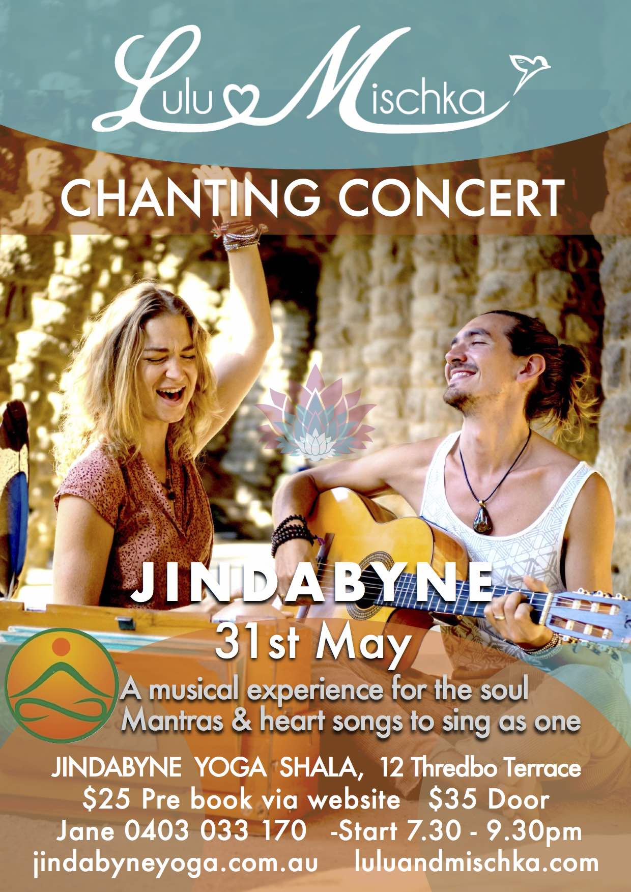 Lulu & Mischka Chanting May 2018