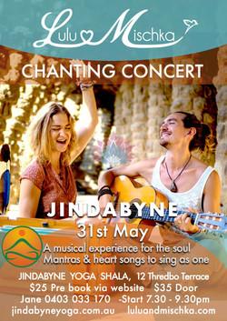 Lulu & Mischka Chanting May 2018