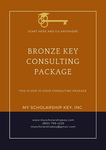 Bronze Key 10 Hour Consulting Package