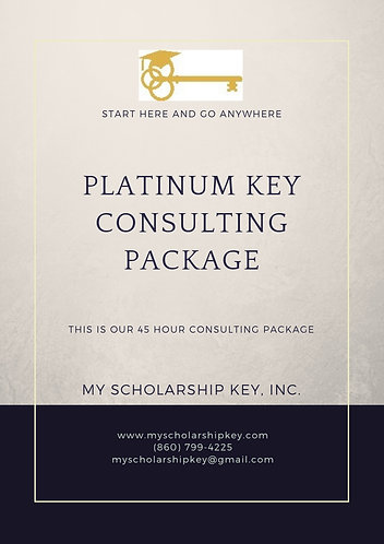 Platinum Key 45 Hour Consulting Package