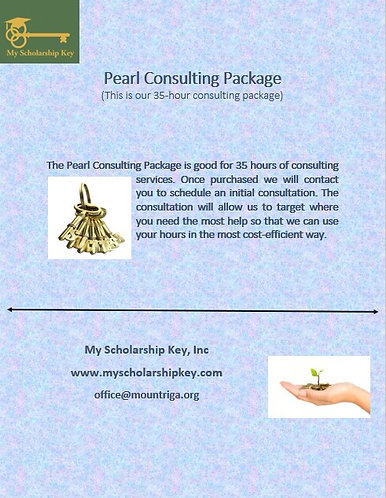 Pearl Key 35 Hour Consulting Package