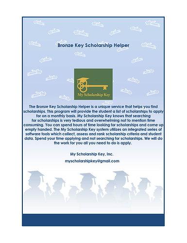 Bronze Key Scholarship Helper