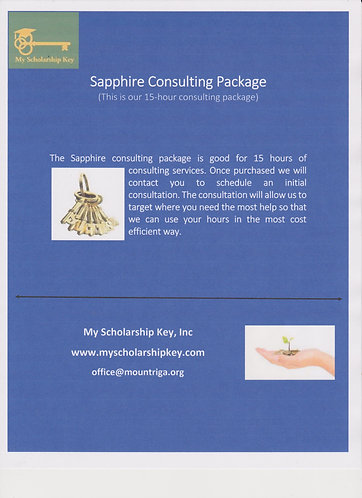 Sapphire 15 Hour Consulting Package