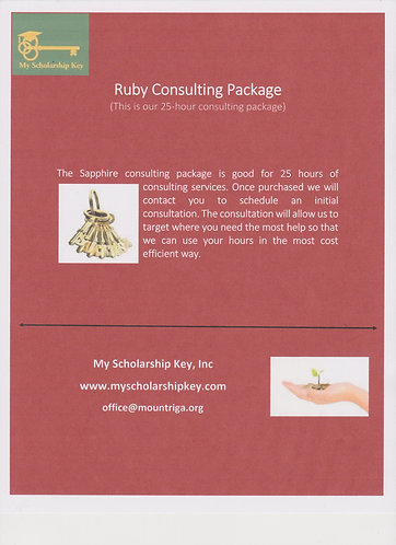 Ruby 25 Hour Consulting Package