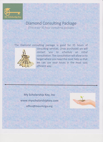 Diamond 35 Hour Consulting Package