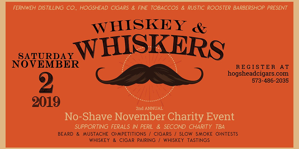 2nd Annual Whiskey & Whiskers