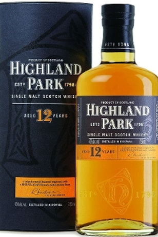 Highland Park Single Malt Scotch 12yr