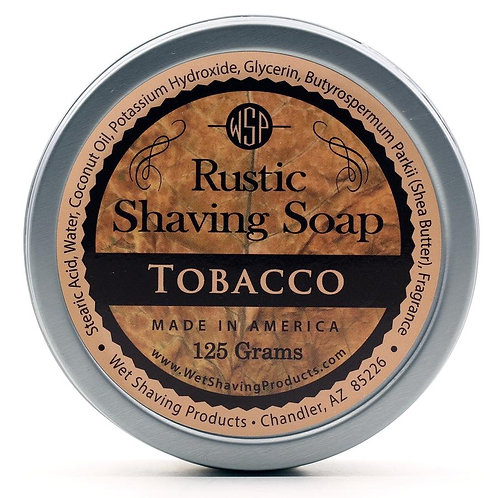 Shave Soap--Tobacco
