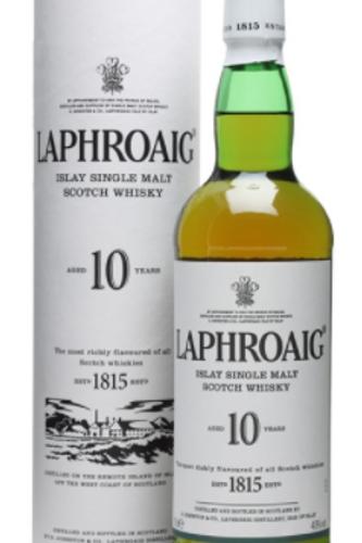 Laphroaig 10yr Scotch