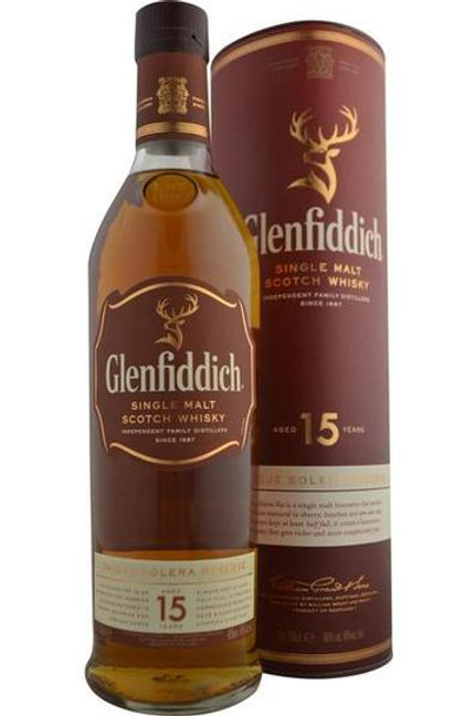 Glenfiddich Single Malt Scotch 15yr
