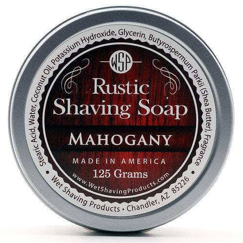 Shave Soap--Mahogany