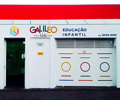Escola Galileo Kids Londrina Unidade 1 Educação Infrantil 1 à 3 anos