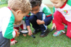 Galileo Kids Londrina crianças aprendendo explorando o mundo