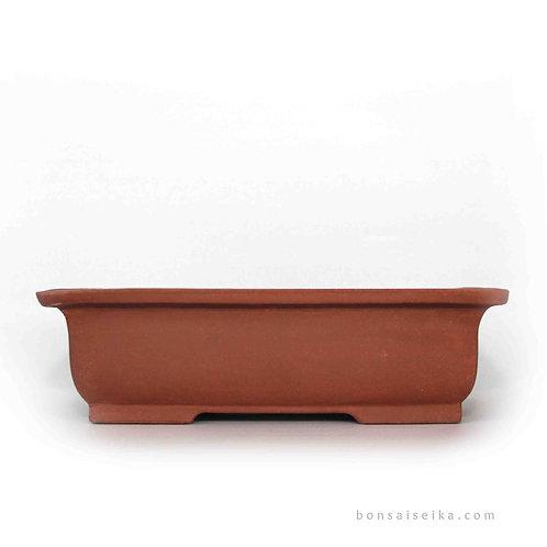 Sırsız Köşeli Bonsai Saksısı No.2-K (28 cm)