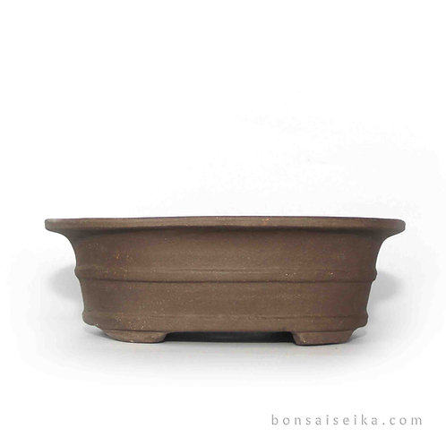 Sırsız Oval Bonsai Saksısı No.2 (22 cm)