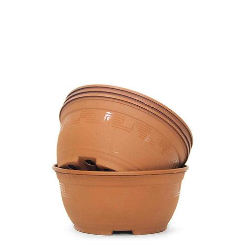 Plastik Bonsai Alıştırma Saksısı 4'lü - 16,5 cm