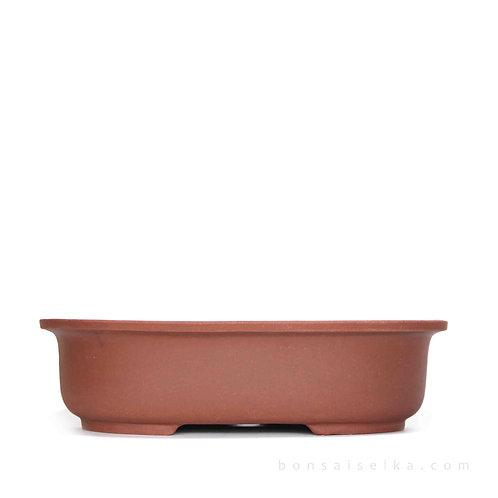 Sırsız Oval Bonsai Saksısı No.5-K (33 cm)
