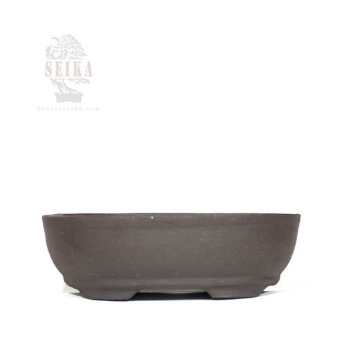 Sırsız Oval Bonsai Saksısı No.3 (17.5 cm)