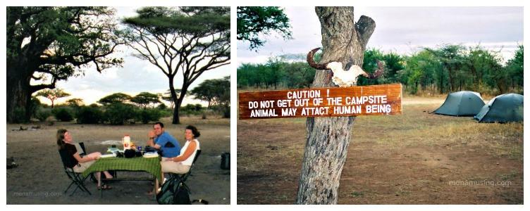 safari camps in Tanzania