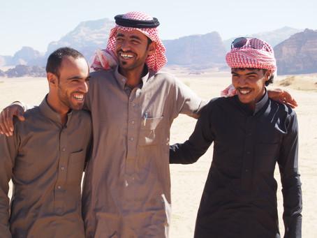 Camels and dunes: Jordan's Wadi Rum desert