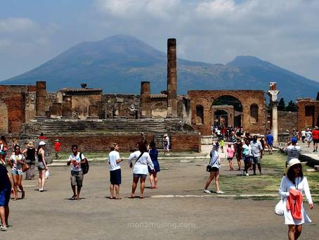 Volcanic destruction: Pompeii and Vesuvius