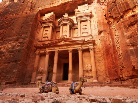 Romancing the sandstone: Hiking in Petra