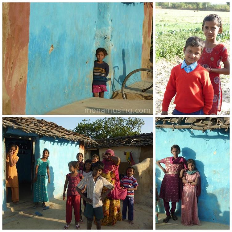 children of Jojawar, Rajasthan in India
