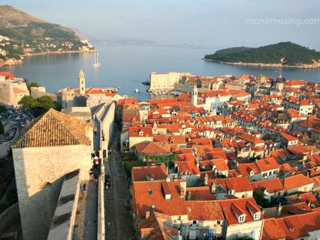 Up the coast of Croatia