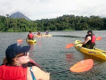 Zip, glide, float: Riding through the rainforest