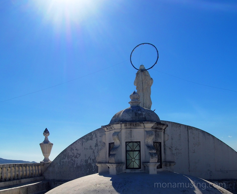 roof of Leon Cathedral, Nicaragua
