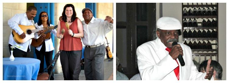 street band and Buena Vista Social Club singer Julio Alberto Fernandez in Havana, Cuba