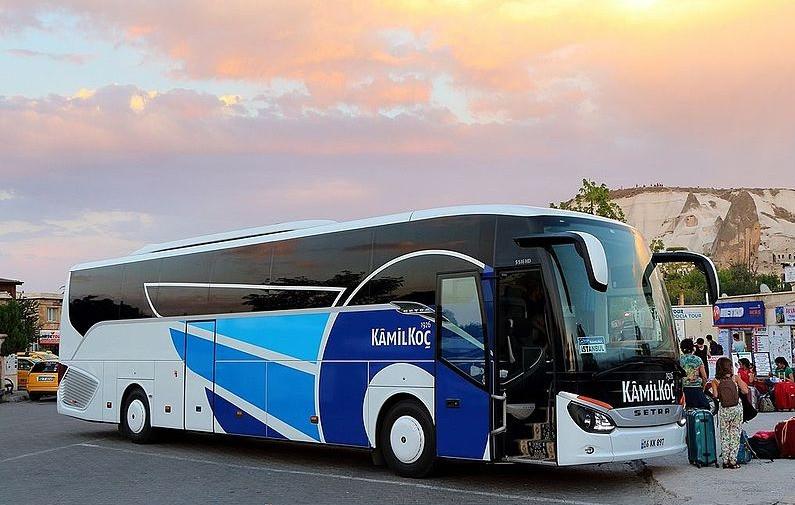 Kamil Koc bus Turkey
