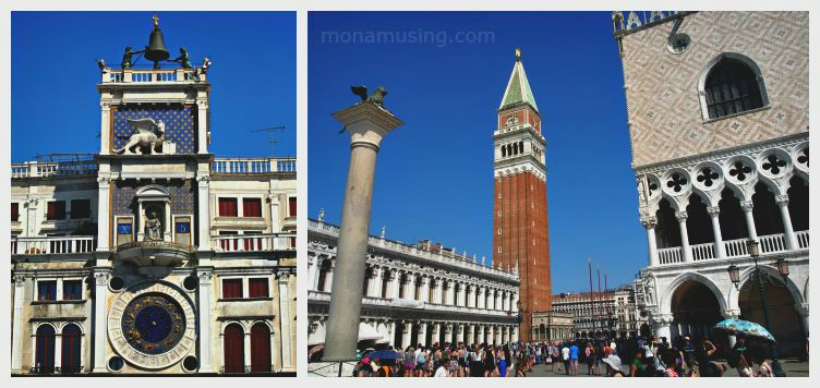 san marco clock tower and campanile