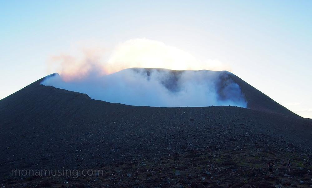 crater of Telica volcano in Nicaragua
