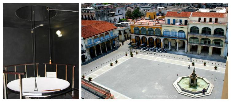 Havana's camera obscura and view of Plaza Vieja