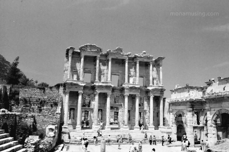Library of Celsus at Ephesus, Turkey