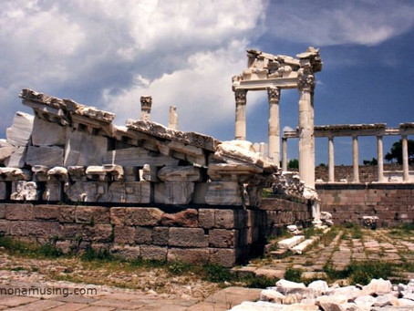 Classical ruins in Turkey