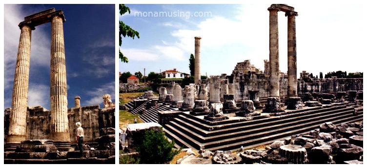 ruins of the Temple of Apollo in Didyma, Turkey