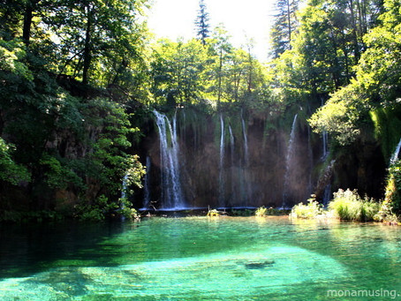Beauty and bullet holes in Croatia