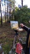 Plein Air Painting on a Hike II