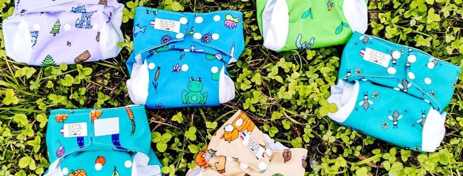 Kit Bambou 2 couches lavables évolutives
