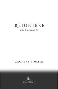 Reigniere Score Cover