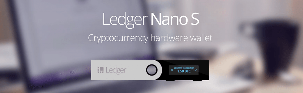Photo of Ledger Crypto Wallet